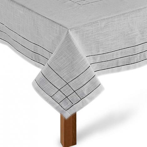 imagem do produto Toalha de Mesa Quadrada 180x180cm Ponto Ajour 331 - Rafimex