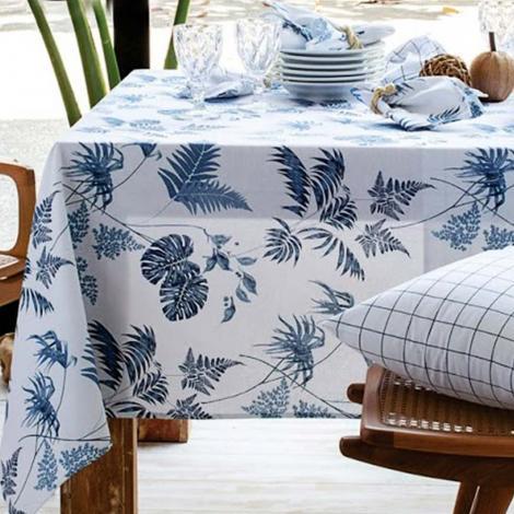 imagem do produto Toalha de Mesa Quadrada 220x220cm Panamá Tropical - Naturalle Fashion
