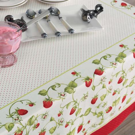 imagem do produto Toalha de Mesa Redonda 160cm Antiformiga Morata - Karsten