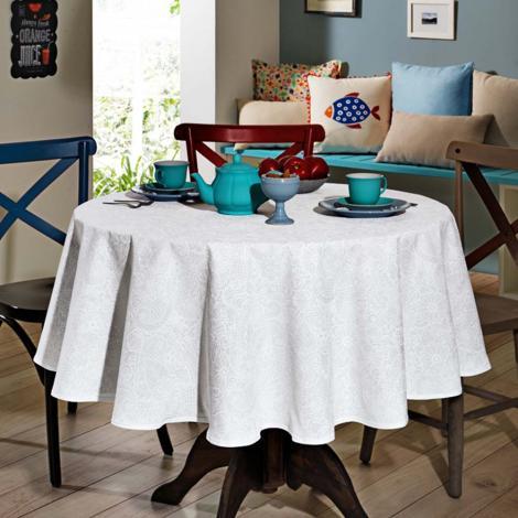 imagem do produto Toalha de Mesa Redonda 160cm Clean Athenas Edite - Dohler