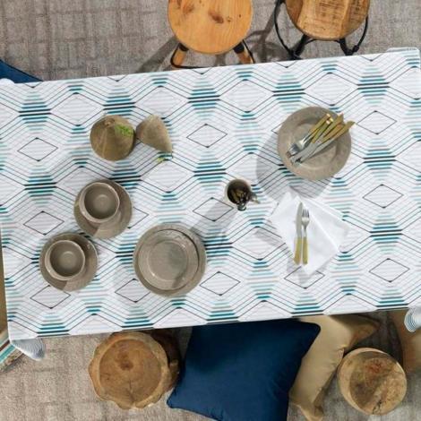 imagem do produto Toalha de Mesa Redonda 178cm Sempre Limpa Éron - Karsten