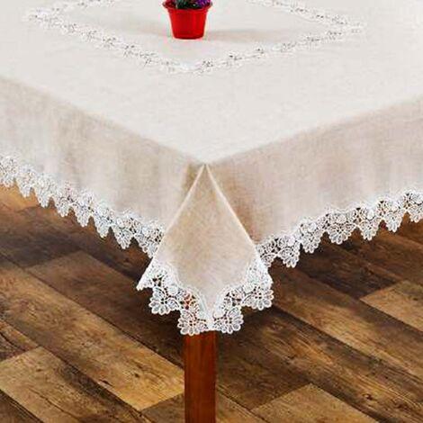 imagem do produto Toalha de Mesa Redonda 180cm Linho 972 - Rafimex