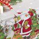 imagem do produto Toalha de Mesa Retangular 140x210cm Vila de Natal  - Karsten