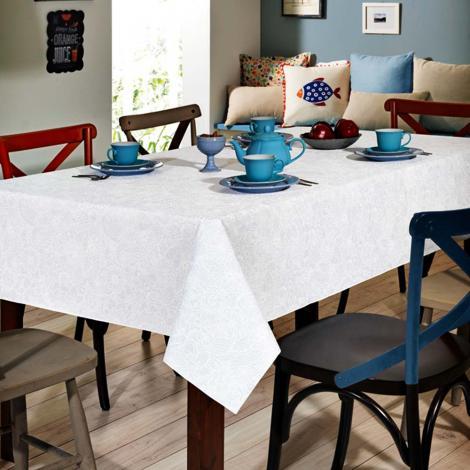 imagem do produto Toalha de Mesa Retangular 160x250cm Clean Athenas Edite - Dohler