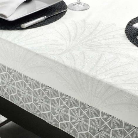 imagem do produto Toalha de Mesa Retangular 160x270cm Sempre Limpa Toledo - Karsten