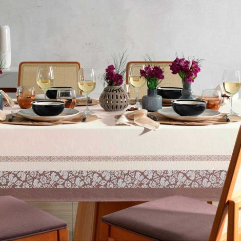 imagem do produto Toalha de Mesa Retangular 180x220cm Celebration Imperial - Karsten