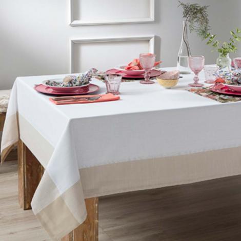 imagem do produto Toalha de Mesa Retangular 180x280cm Chamonix - Naturalle Fashion