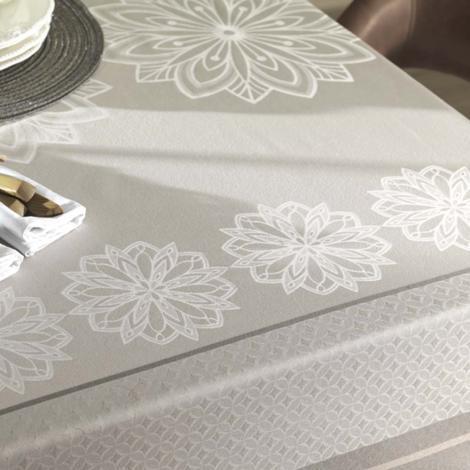 imagem do produto Toalha de Mesa Retangular 180x320cm Sempre Limpa Bourbon - Karsten